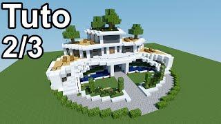 getlinkyoutube.com-Minecraft tutoriel - Maison moderne ! 2/3