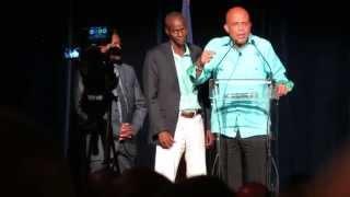 getlinkyoutube.com-Président Joseph Michel Martelly présente Jovenel Moise et le projet de plantation de bananes