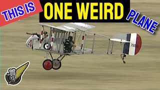 getlinkyoutube.com-Early Oddball WW1 Fighters - Airco DH.2 and DH.5