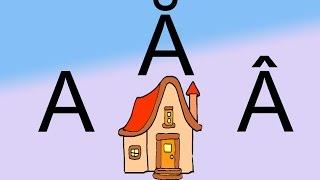Cantecul alfabetului | Cantecul alfabetului in romana | Cantece pentru copii