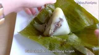 getlinkyoutube.com-Banh Gio - Vietnamese Rice Pyramid Dumplings Recipe