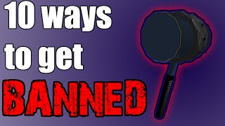 getlinkyoutube.com-10 ways to get banned on ROBLOX