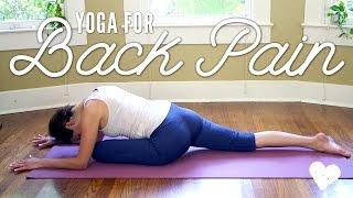 getlinkyoutube.com-Yoga For Back Pain - Yoga Basics