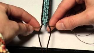 getlinkyoutube.com-How to Make Stackable Ladder Bracelets