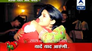 getlinkyoutube.com-Saras-Kumud blessed with a baby girl