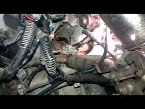 Nissan maxima a32 a33 замена датчика детонации и самодиагностика ошибка 34