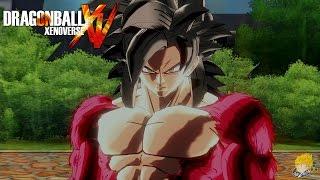 getlinkyoutube.com-Dragon Ball Xenoverse (PS4): How to Unlock SSJ4 Goku【60FPS 1080P】