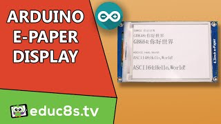 getlinkyoutube.com-Arduino Tutorial: How to use the 4.3' E-Paper display with Arduino from Gearbest.com