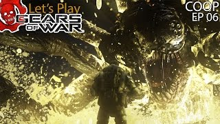 """getlinkyoutube.com-Let's Play   Gears of War Ultimate - """"Corpser Fight!"""" (Co-op w/ H2O Delirious) (EP6)"""