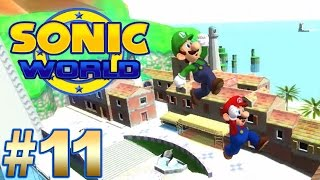 getlinkyoutube.com-SONIC WORLD: Super Mario Bros. Mod | Gamplay [ No Commentary ]