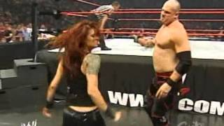 getlinkyoutube.com-2005 07 11 RAW   Edge with Lita vs  Kane + Matt Hardy