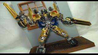 getlinkyoutube.com-CUSTOM SUNSTREAKER VER 2.0 Transformers revenge of the Fallen by hunter knight customs
