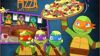 getlinkyoutube.com-Games: Teenage Mutant Ninja Turtles - Pizza Like A Turtle Do