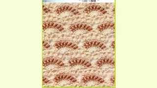 getlinkyoutube.com-Crochet| Stitches |Simplicity Patterns| غرزة كروشيه فستونات مطعمه بالخرز للبلوزات والجواكت الصيفية