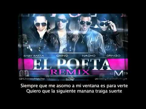Chino y Nacho - Poeta Remix Ft. Baby Rasta y Gringo