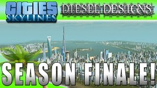 getlinkyoutube.com-Cities: Skylines: Season Finale!: Montage with Time Lapse Tour! (City Building Series 60FPS)