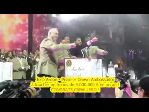 Crown Ambassador José Ardon 4 000 000 $ ring earner