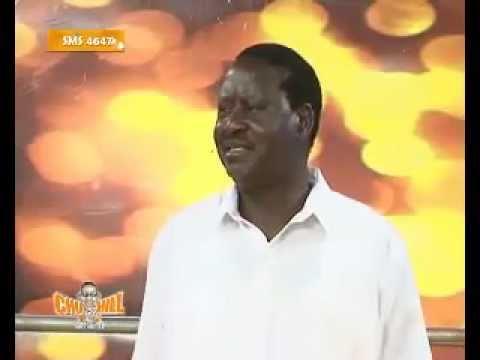 Raila Odinga on Churchill live 2
