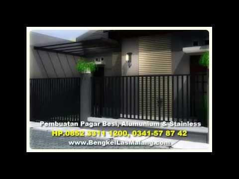Tlp.0852 3311 1200, Pembuatan PAGAR RUMAH Minimalis di MALANG