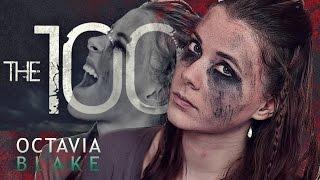 getlinkyoutube.com-OCTAVIA BLAKE | THE 100 | Make-Up Tutorial + Frisur (einfach)