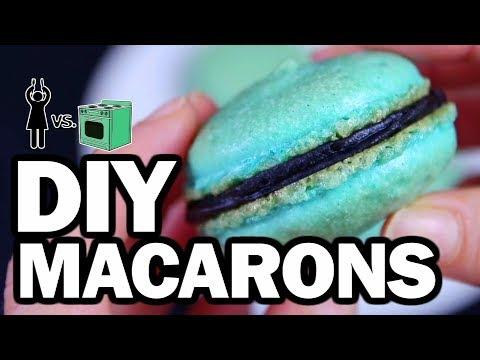 DIY Macarons, Corinne VS Cooking #14