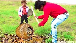 छोटू का मुकाबला गोगो से | CHOTU KA MUQABLA GOGO SE | Khandesh Hindi Comedy | Chotu Comedy Video