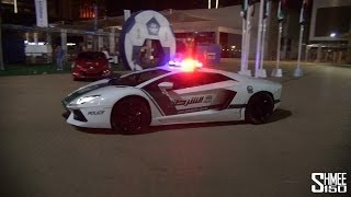 getlinkyoutube.com-Dubai Police Supercars in Action - Brabus B63S, Aventador, SLS, Bentley Conti GT