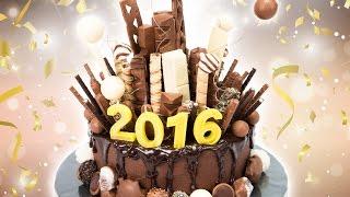 getlinkyoutube.com-New Years Eve Chocolate Explosion Cake from Cookies Cupcakes and Cardio