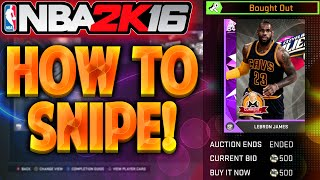 getlinkyoutube.com-NBA 2K16 MyTeam How To Snipe On The Auction Block! HOW TO MAKE MT!