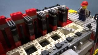 getlinkyoutube.com-LEGO Marine Diesel Engine Minifigure Scale