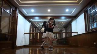 getlinkyoutube.com-Orange Caramel  رقص اغنية Sandy & Mandy