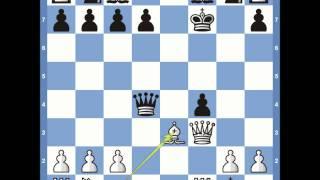 getlinkyoutube.com-Kings Gambit: Muzio Gambit Variation
