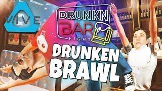 getlinkyoutube.com-Drunkn Bar Fight - Drunken Brawl - Fight like a Puss (Htc Vive)
