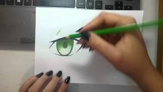 getlinkyoutube.com-Como pintar Olhos/ How to color Eyes
