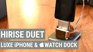 getlinkyoutube.com-Grab a Luxe Charger for your iPhone & Apple Watch with HiRise Duet by Twelve South