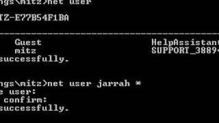 getlinkyoutube.com-Change User Passwords Using The Net User Command