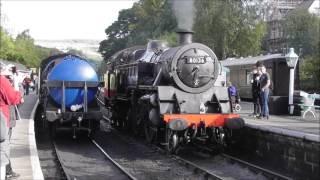 getlinkyoutube.com-North Yorkshire Moors Railway Autumn Steam Gala Day 1 Friday 30th September 2016