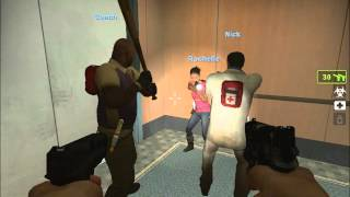 getlinkyoutube.com-Left 4 dead 2 (Loquendo) Cap. 1: Hotel