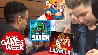 getlinkyoutube.com-BATFLUNCH & L'ALIEN RENCONTRE ABONNÉS, MOUVEMENT DE FOULE... (Vlog Paris Games Week 2016 Jour 2)