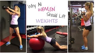 getlinkyoutube.com-5 Weight Training Workout Benefits | How to GET FIT, LOSE FAT & STAY YOUNG