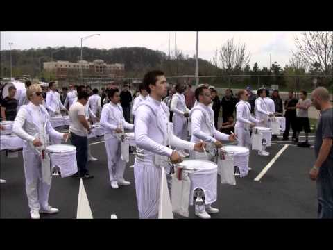 Riverside Community College RCC Winter Drumline 2011 - WGI Prelims Parking Lot - Dayton