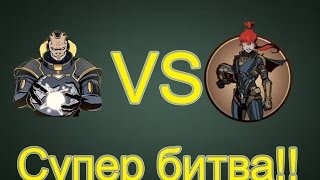 getlinkyoutube.com-Shadow Fight 2 - Титан против Мей - Titan vs. Mey