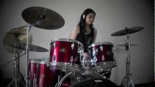 getlinkyoutube.com-Jet Lag - Simple Plan (Drum Cover) - Rani Ramadhany