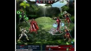 getlinkyoutube.com-Marvel Avengers Alliance Hexwand vs High Evolutionary #Groupboss