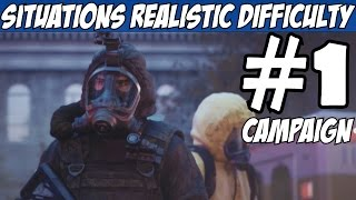 getlinkyoutube.com-Rainbow Six Siege Situations Realistic Walkthrough Part 1 Mode All Objectives Gameplay Review