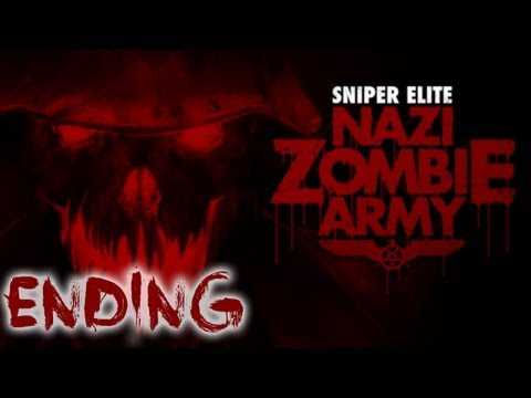 Sniper Elite Nazi Zombie Army - Playthrough Coop Fin [HD]