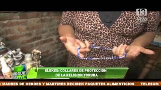 getlinkyoutube.com-Elekes: Los collares de protección de la religión Yoruba