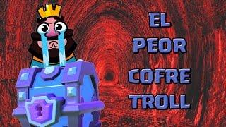 getlinkyoutube.com-¡¡EL PEOR COFRE TROLL DE LA HISTORIA!! | El Cofre Troll | Clash Royale con TheAlvaro845 | Español