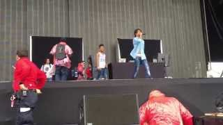 getlinkyoutube.com-Swae during Slim Jimmy Injury - Rae Sremmurd (Governor's Ball 2015)