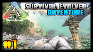 getlinkyoutube.com-ARK: Survival Evolved - Ep. 1 - A New World! - Let's Play (Xbox One)